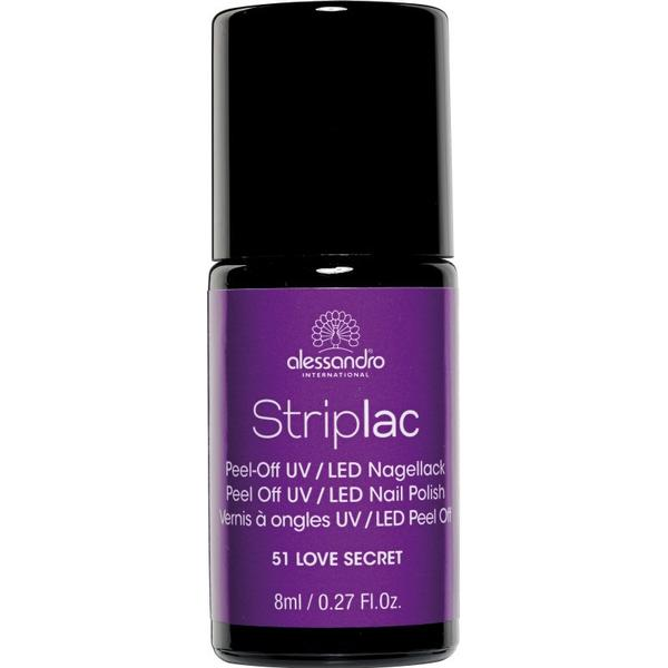 Alessandro Striplac Nail Polish #51 Love Secret 8ml