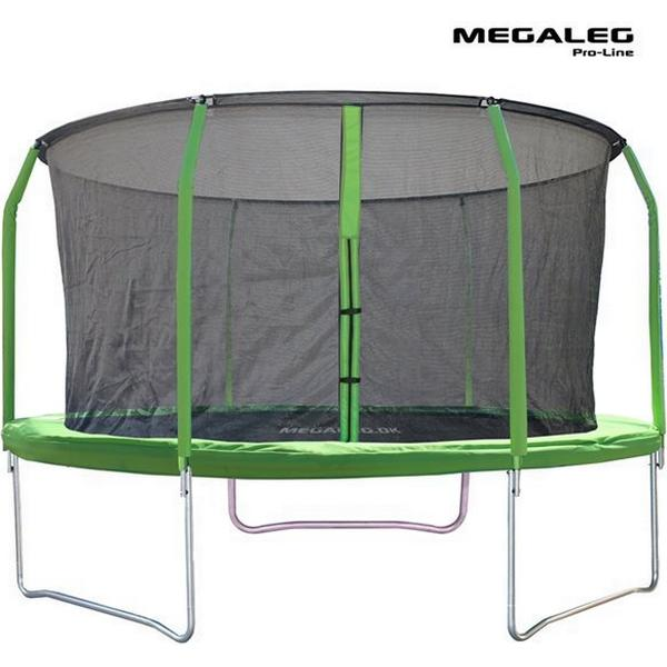 Megaleg Pro-Line Trampoline + Pro Safety Net 370cm