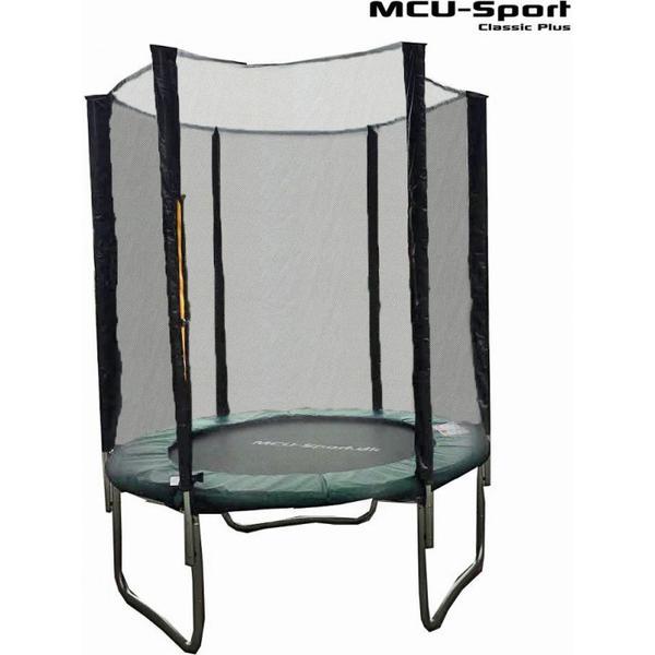 MCU-Sport Classic Plus Trampoline 180cm + Safety Net