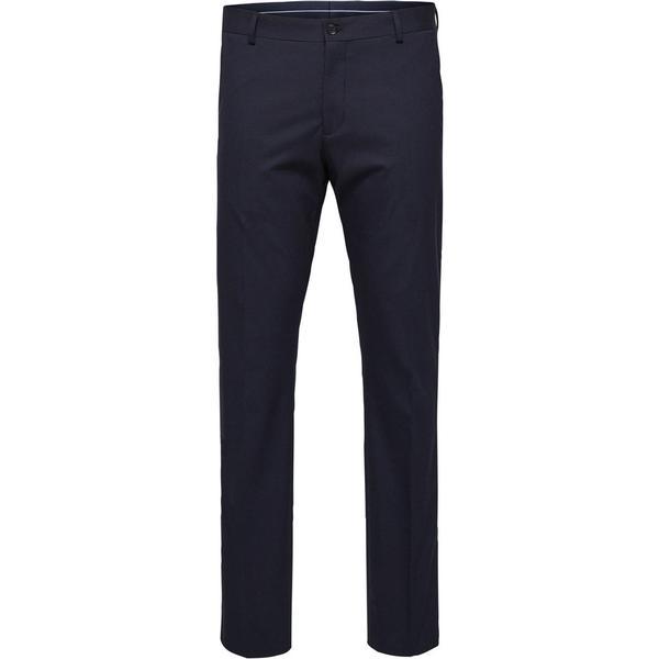 Selected Slim Fit Suit Trousers Blue/Navy Blazer