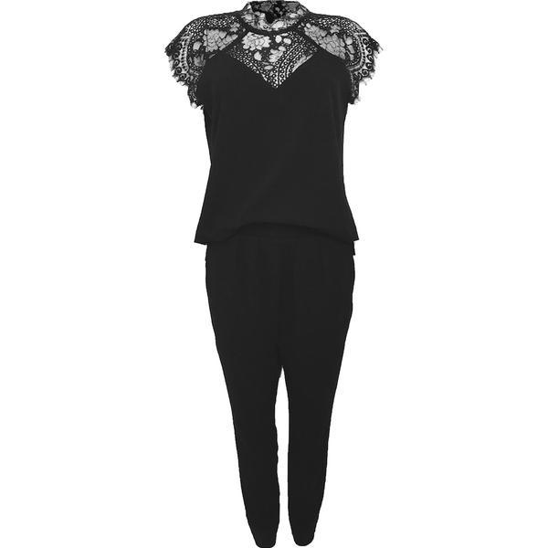 Neo Noir Neith Lace Jumpsuit - Black