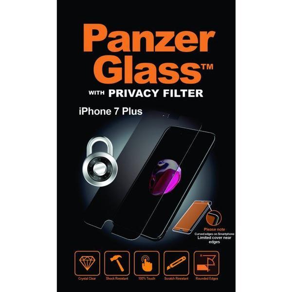 PanzerGlass Privacy Skærmbeskyttelse (iPhone 7 Plus)