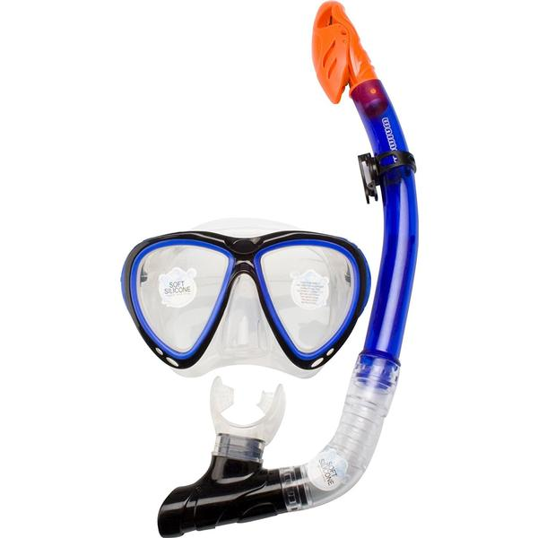 Waimea Silicone Diving Mask with Snorkel