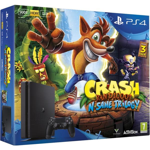 Sony PlayStation 4 Slim 500GB - Crash Bandicoot N. Sane Trilogy