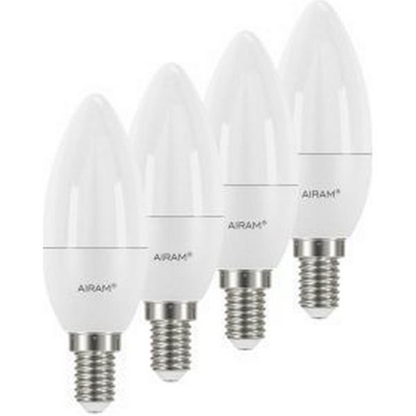 Airam 4711738 LED Lamp 5.5W E14 4 Pack