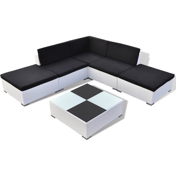 vidaXL 41264 Loungesæt, 1 borde inkl. 1 sofaer