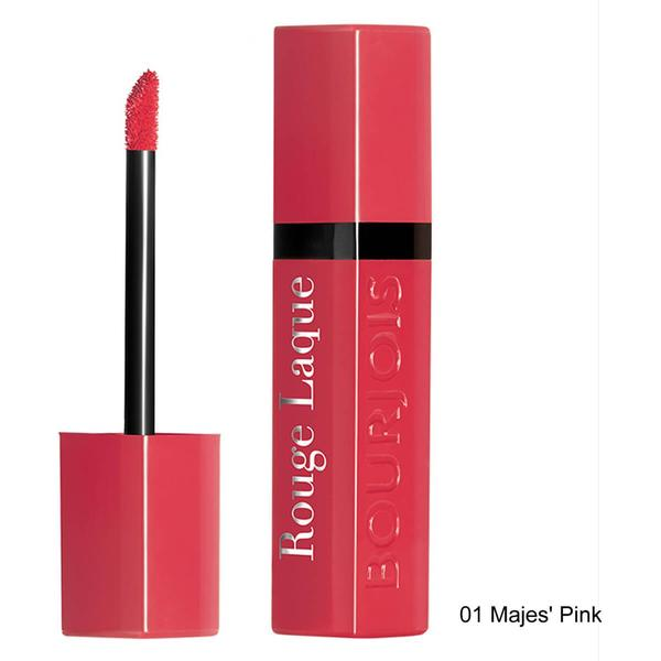 Bourjois Rouge Laque Lipstick #01 Majes Pink