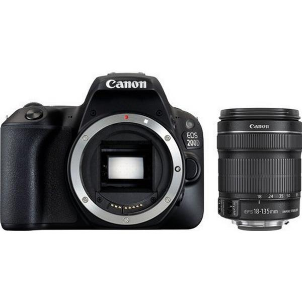 Canon EOS 200D + 18-135mm IS STM