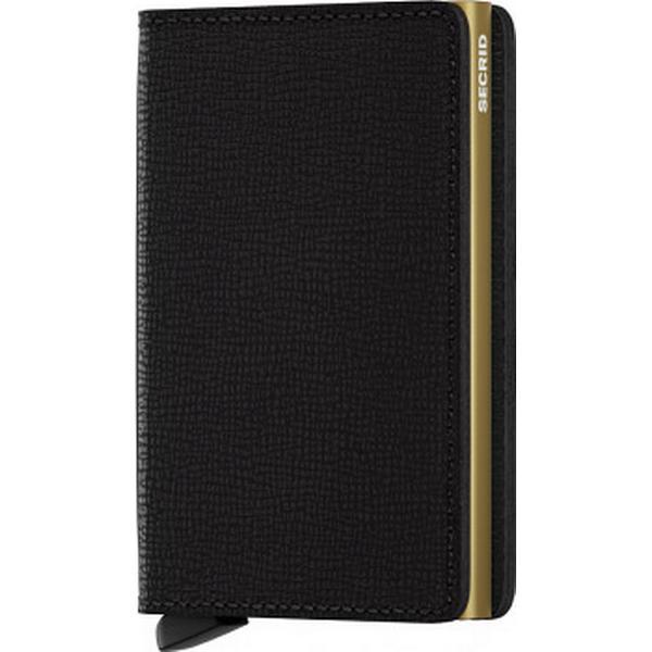 Secrid Slim Wallet - Crisple Black Gold