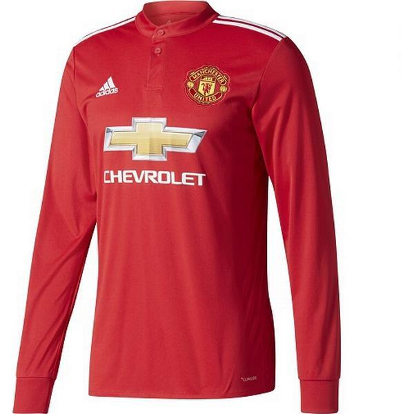 Adidas Manchester United Hjemmebanetrøje L/Æ 17/18 Herre