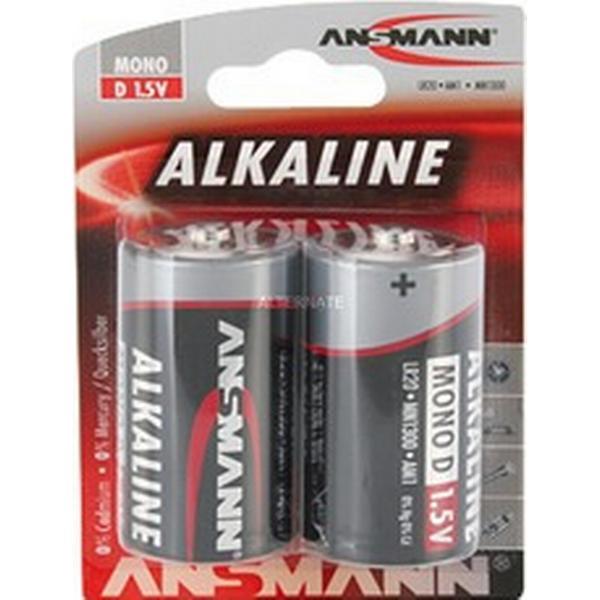 Ansmann Mono D 2-pack
