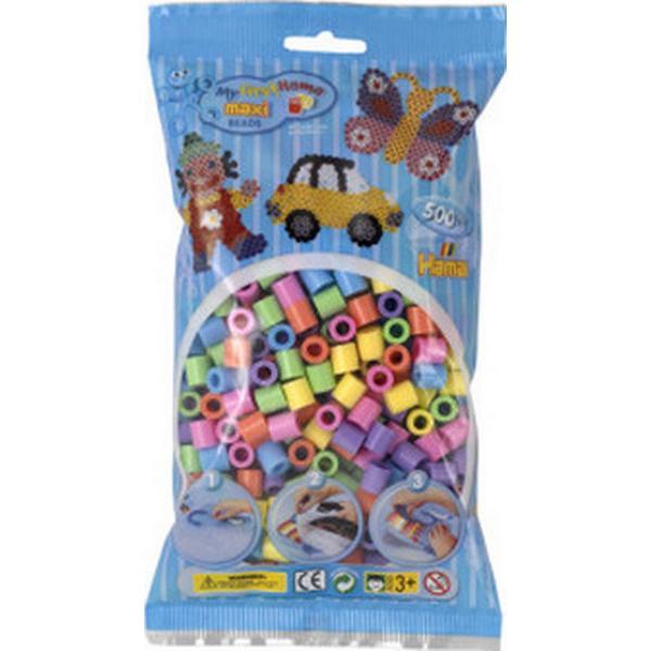 Hama Maxi Beads Pastel Mix Maxi Beads 500pcs 8471
