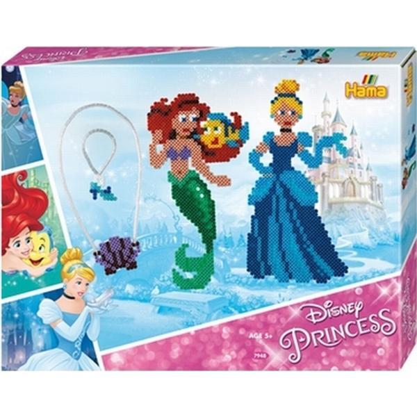 Hama Midi Beads Disney Princess Ariel & Cinderella Large Gift Set 7948