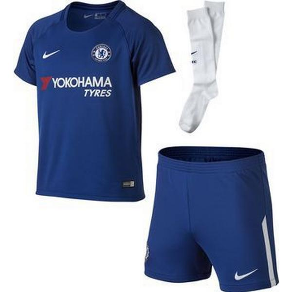 Nike Chelsea FC Hjemmebane Fodboldsæt 17/18 Børn