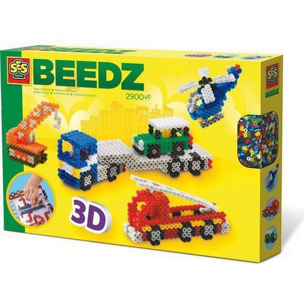 SES Creative Beedz Iron on Beads 3D Vehicles 06253