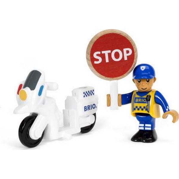 Brio Police Motorcyclist 33861