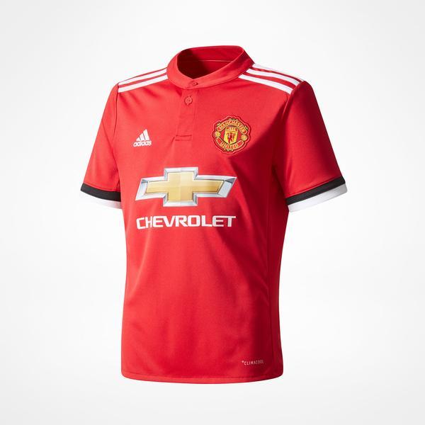 Adidas Manchester United Hjemmebanetrøje 17/18 Børn