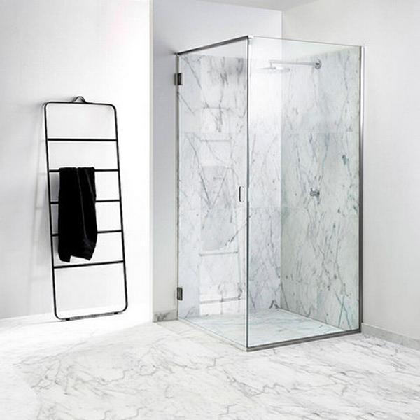 Unidrain GlassLine Brusedør 776mm