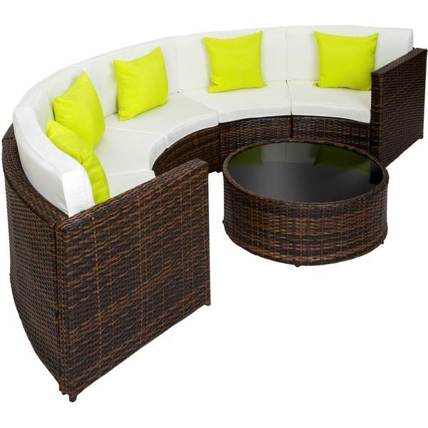 TecTake 402035 Loungesæt