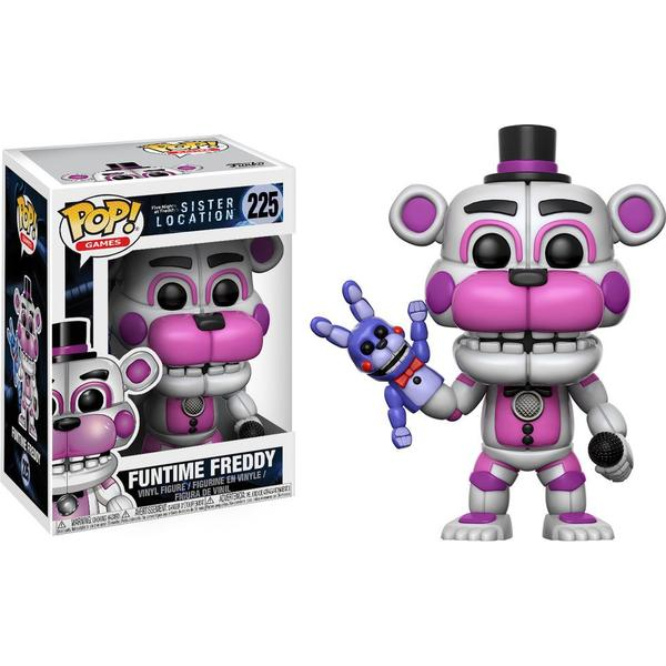 Funko Pop! Games Five Nights at Freddy's Sister Location Funtime Freddy