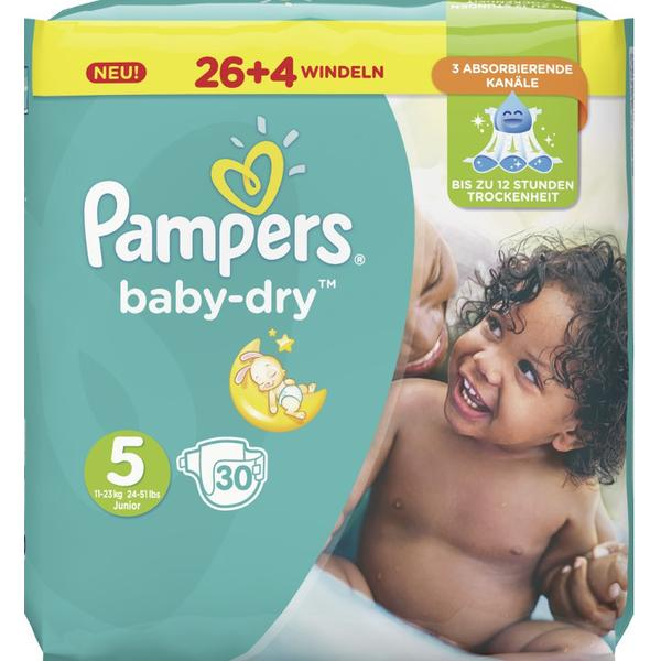 Pampers Baby Dry Size 5 Junior