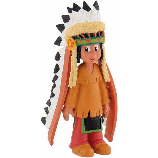 Bullyland Yakari with Feather Headdress 43356
