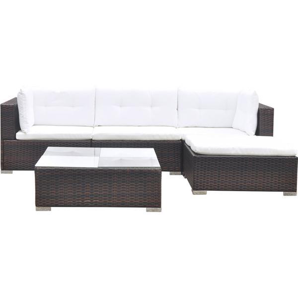 vidaXL 41871 Loungesæt, 1 borde inkl. 1 sofaer