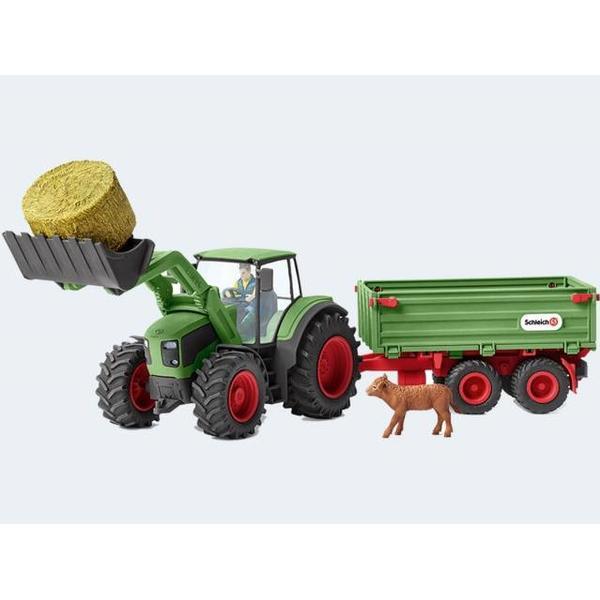 Schleich Traktor Med Trailer 42379