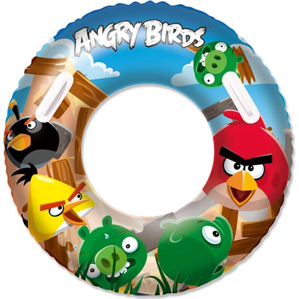 Bestway Angry Birds Swim Ring 91cm