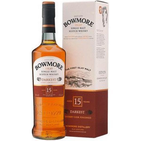 Bowmore Darkest 15 YO Islay Single Malt 43% 70 cl