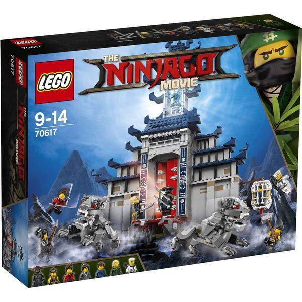 Lego The Ninjago Movie Det Ultimative Ultimative Våbens Tempel 70617