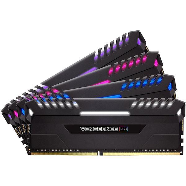 Corsair Vengeance RGB DDR4 3000MHz 4x16GB (CMR64GX4M4C3000C15)