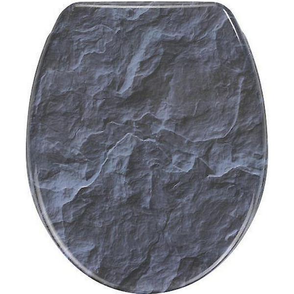 Wenko Toiletsæde Slate Rock