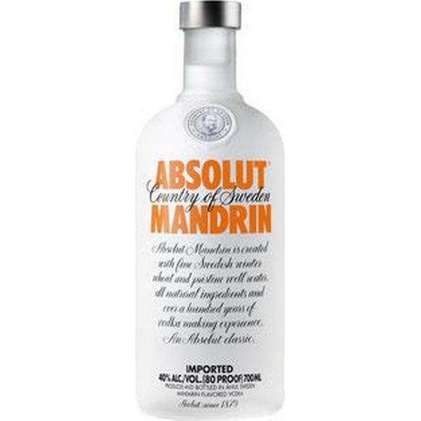 Absolut Vodka Mandrin 40% 70 cl