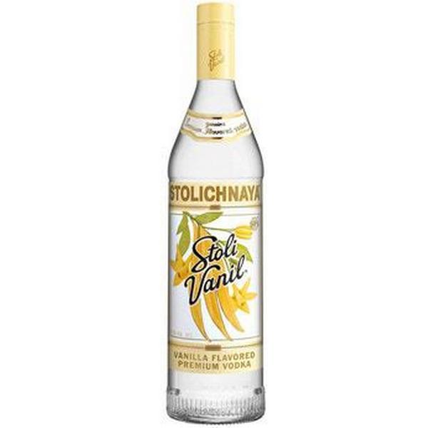 Stolichnaya Vodka Vanil 37.5% 70 cl
