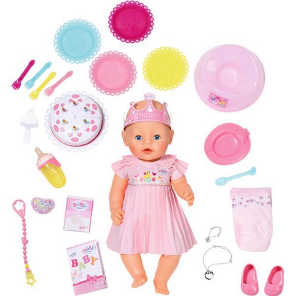 Zapf Baby Born Interaktiv Fødselsdags Dukke