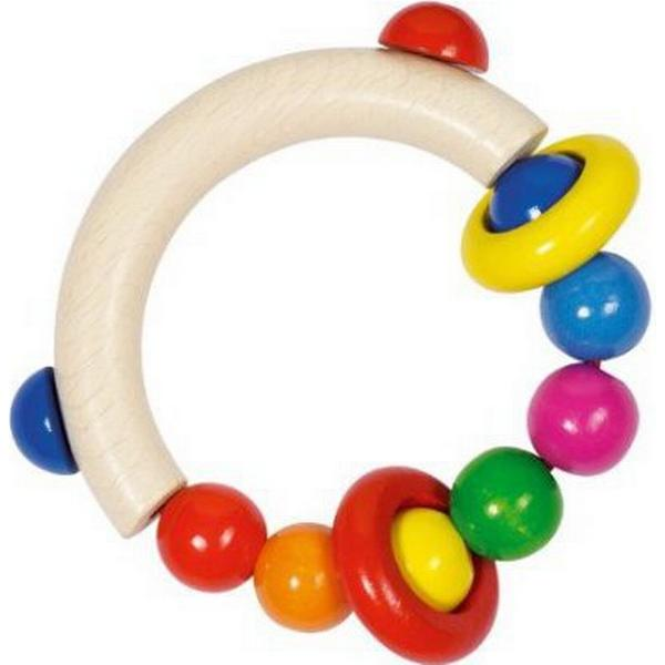 Goki Touch Ring Half Round with Beads & 2 Rings 734300