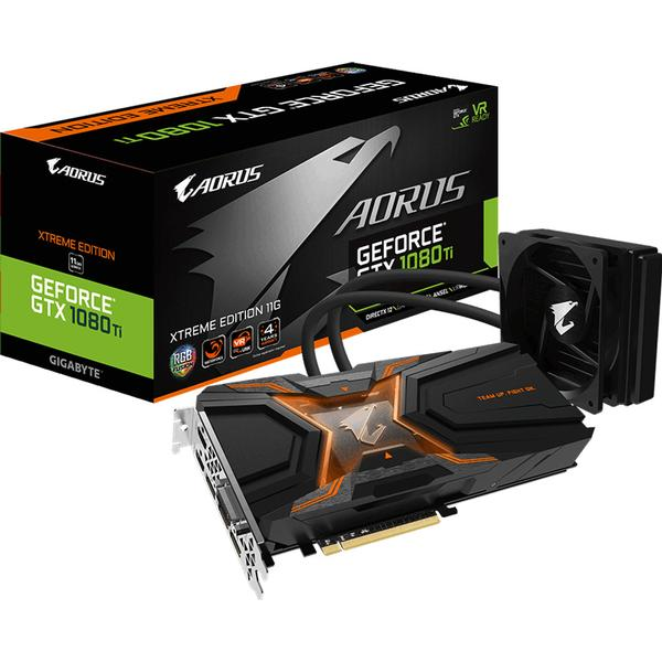 Gigabyte Aorus GeForce GTX 1080 Ti Waterforce Xtreme Edition 11G (GV-N108TAORUSX W-11GD)