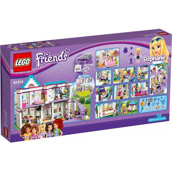 Lego Friends Stephanies House 41314 Compare Prices Pricerunner Uk