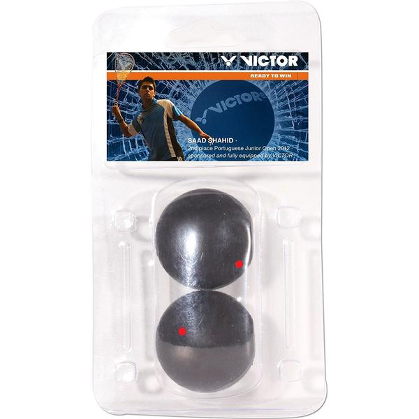 Victor 170/5/0 Squash Ball Blister 2-Pack