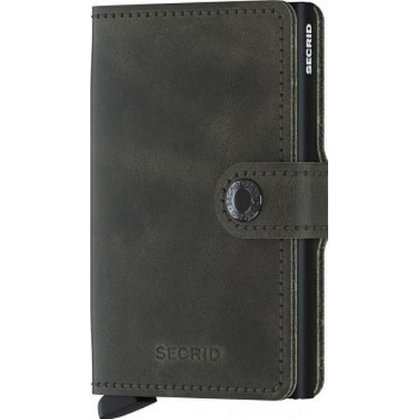 Secrid Mini Wallet - Vintage Olive Black