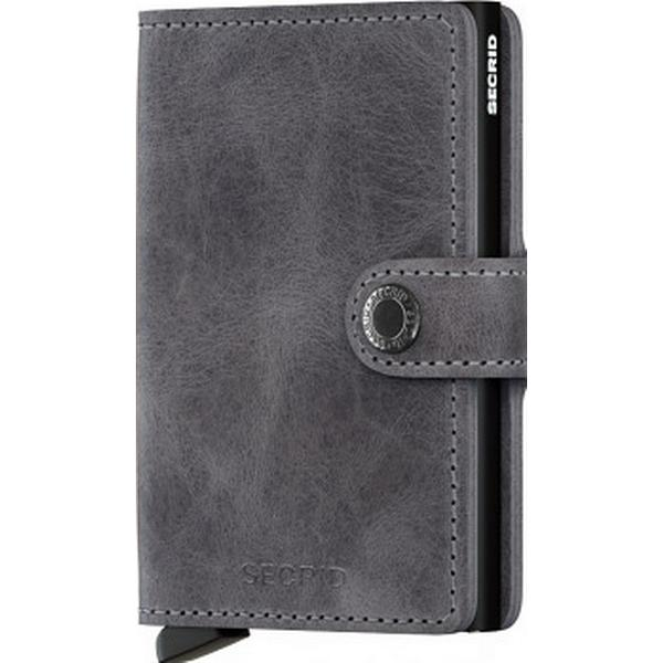 Secrid Mini Wallet - Vintage Grey Black