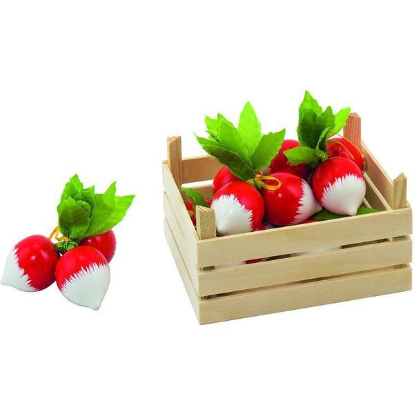 Goki Radishes in Vegetable Crate 51672