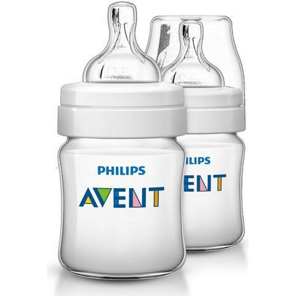 Philips Avent Classic+ Baby Bottle 125ml 2-pack