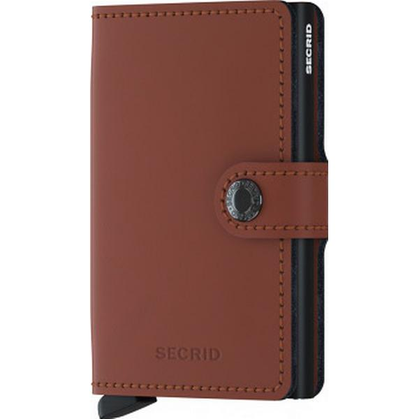 Secrid Mini Wallet - Matte Brick Black