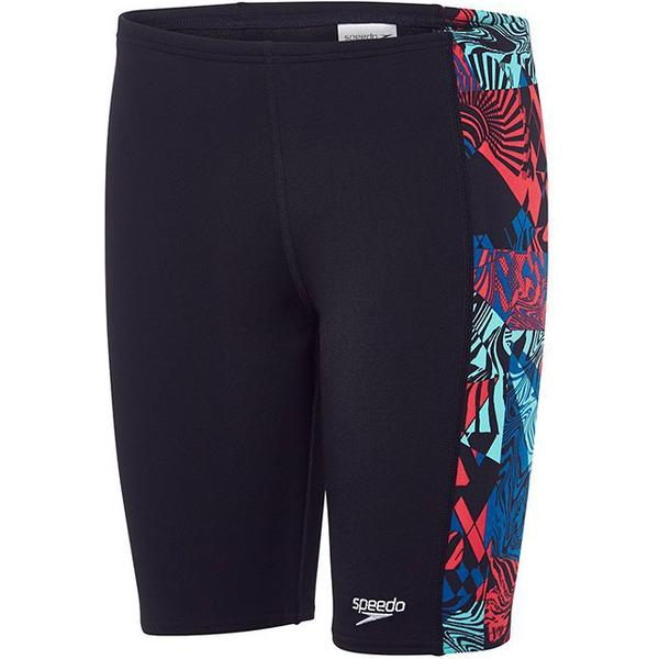 Speedo Logo Panel Jammer Shorts Jr