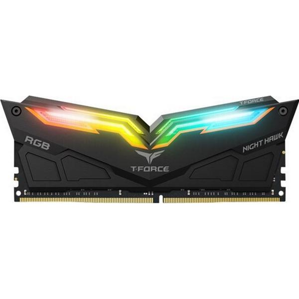 Team T-Force Night Hawk RGB Black DDR4 3000Mhz 2x8GB (TF1D416G3000HC16CDC01)