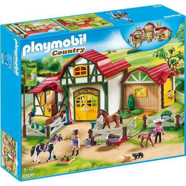 Playmobil Stort Ridecenter 6926