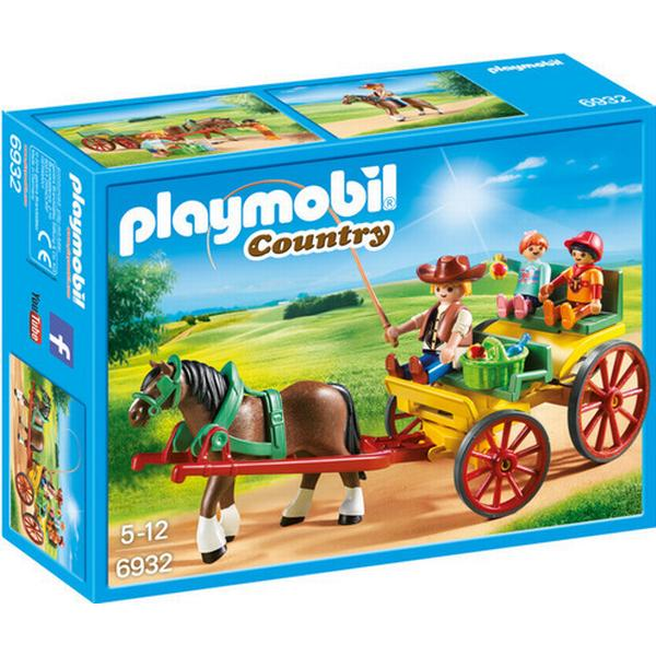 Playmobil Horse Drawn Wagon 6932