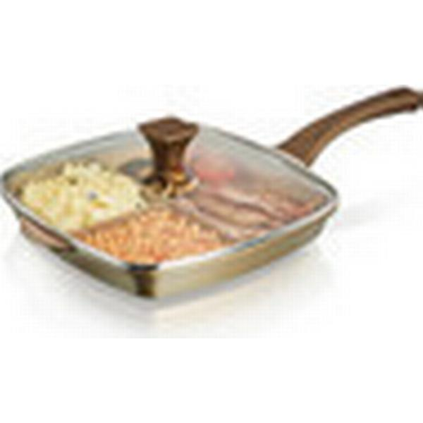 Tower Cerastone Grilling Pan with lid